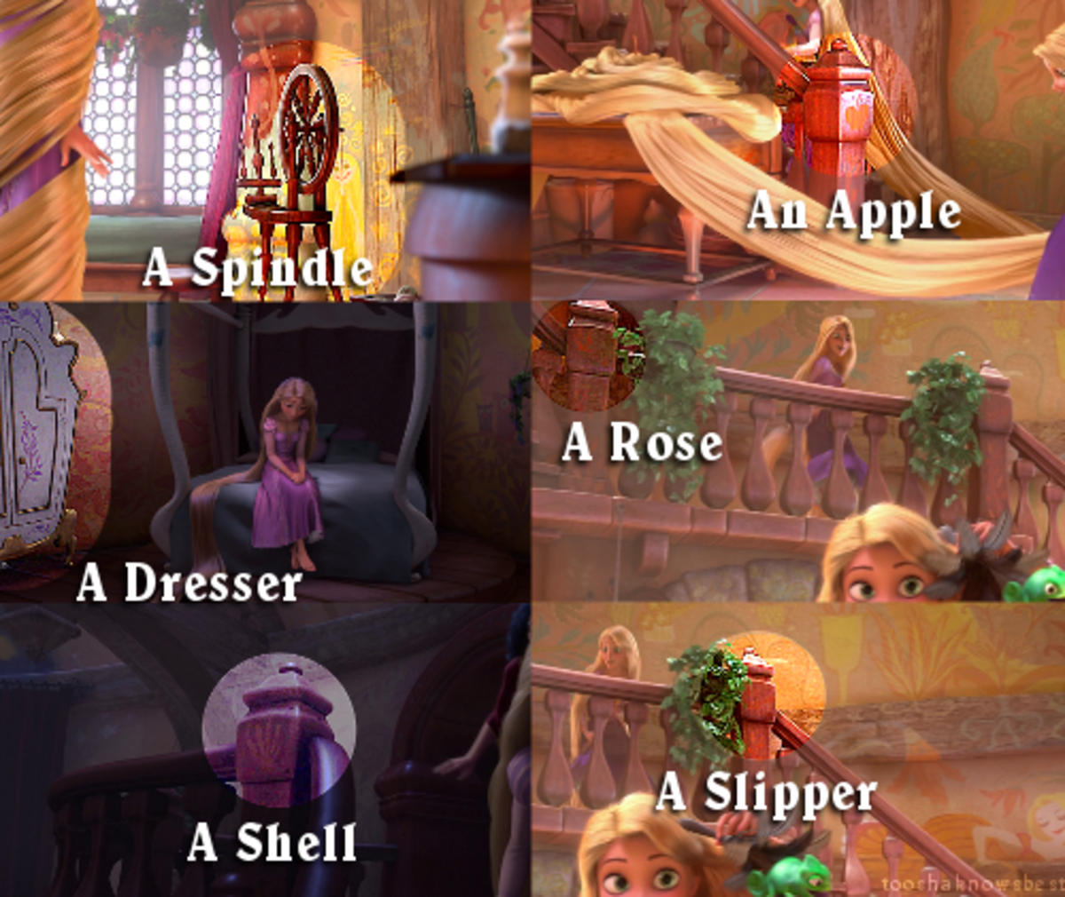 What You Didnt See Hidden Disney Images Tangled Reelrundown
