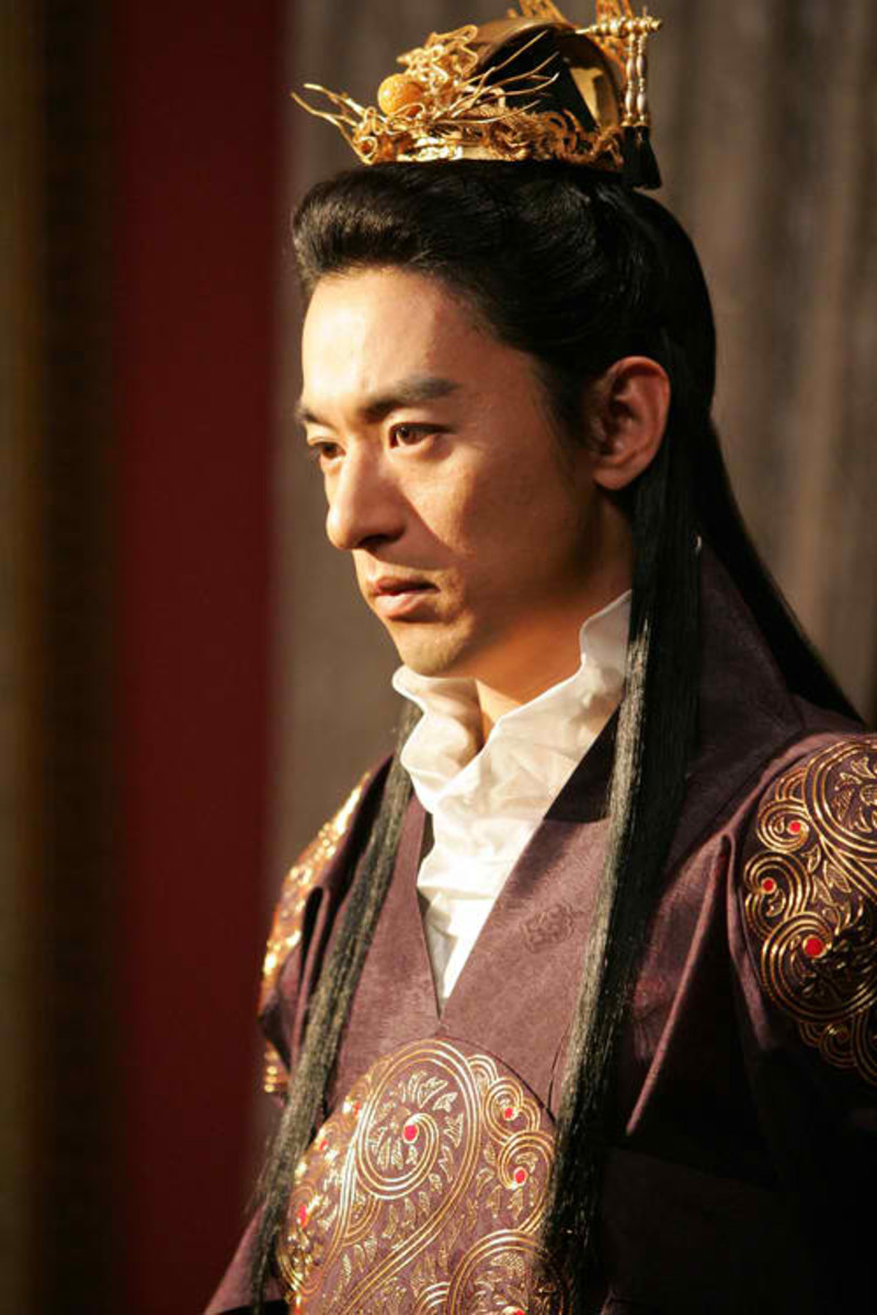 Joo Jin-mu as the King