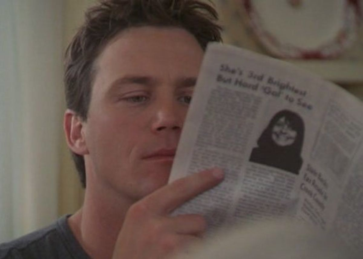 "Earl Hays newspaper prop in ""Charmed"" (2001) Season 3 Episode 17"