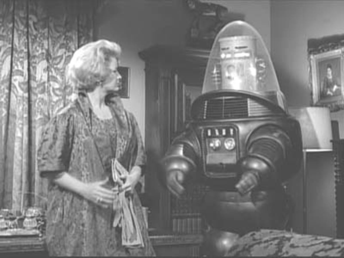 Robby The Robot in The Twilight Zone, Uncle Simon