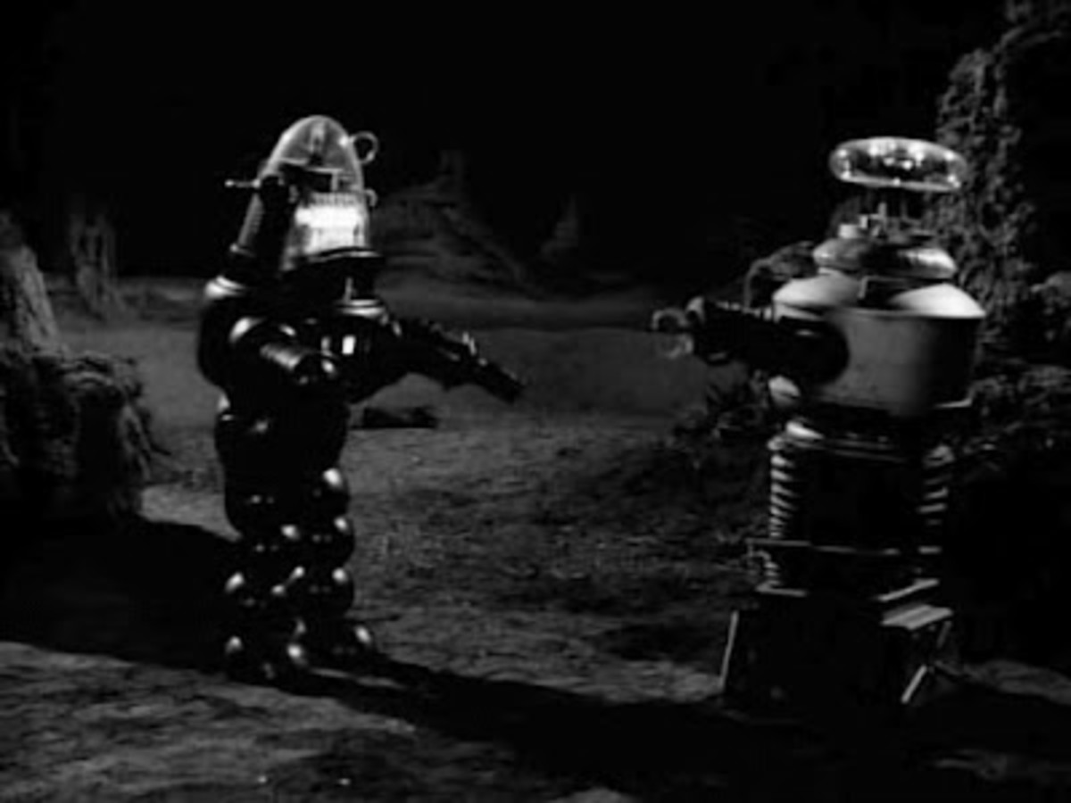 Robby the Robot in Lost In Space, War of the Robots