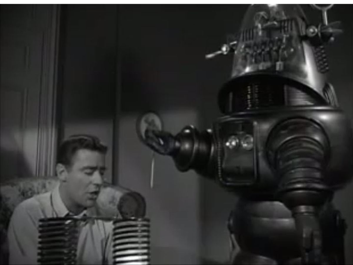 Robby the Robot in The Thin Man
