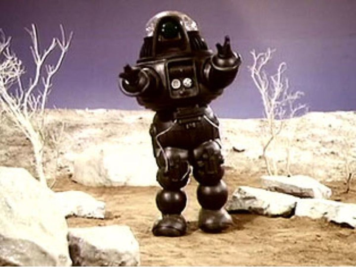 Robby the Robot in Space Academy