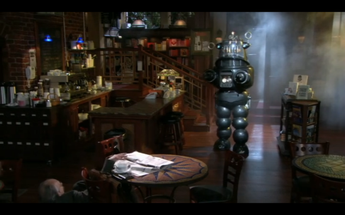 Robby The Robot in Stacked