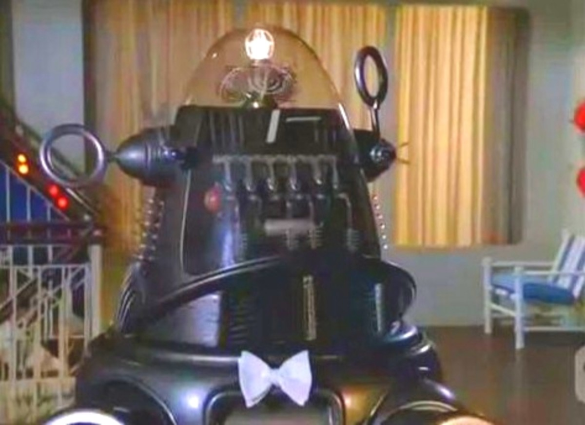 Robby the Robot in The Love Boat