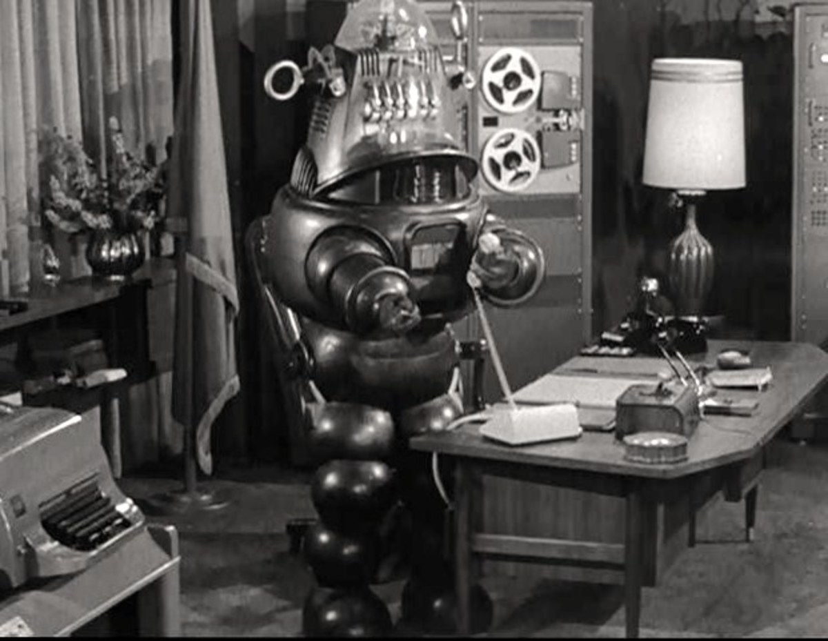 Robby The Robot in The Twilight Zone, The Brain Center At Whipple's