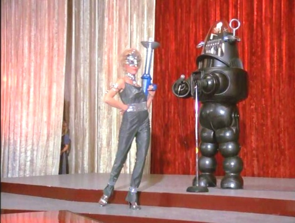Robby The Robot in Wonder Woman
