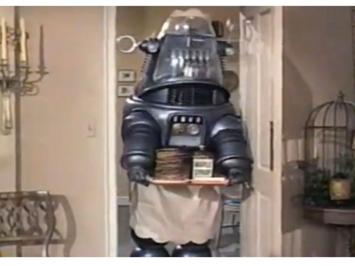 Robby the Robot in Hazel