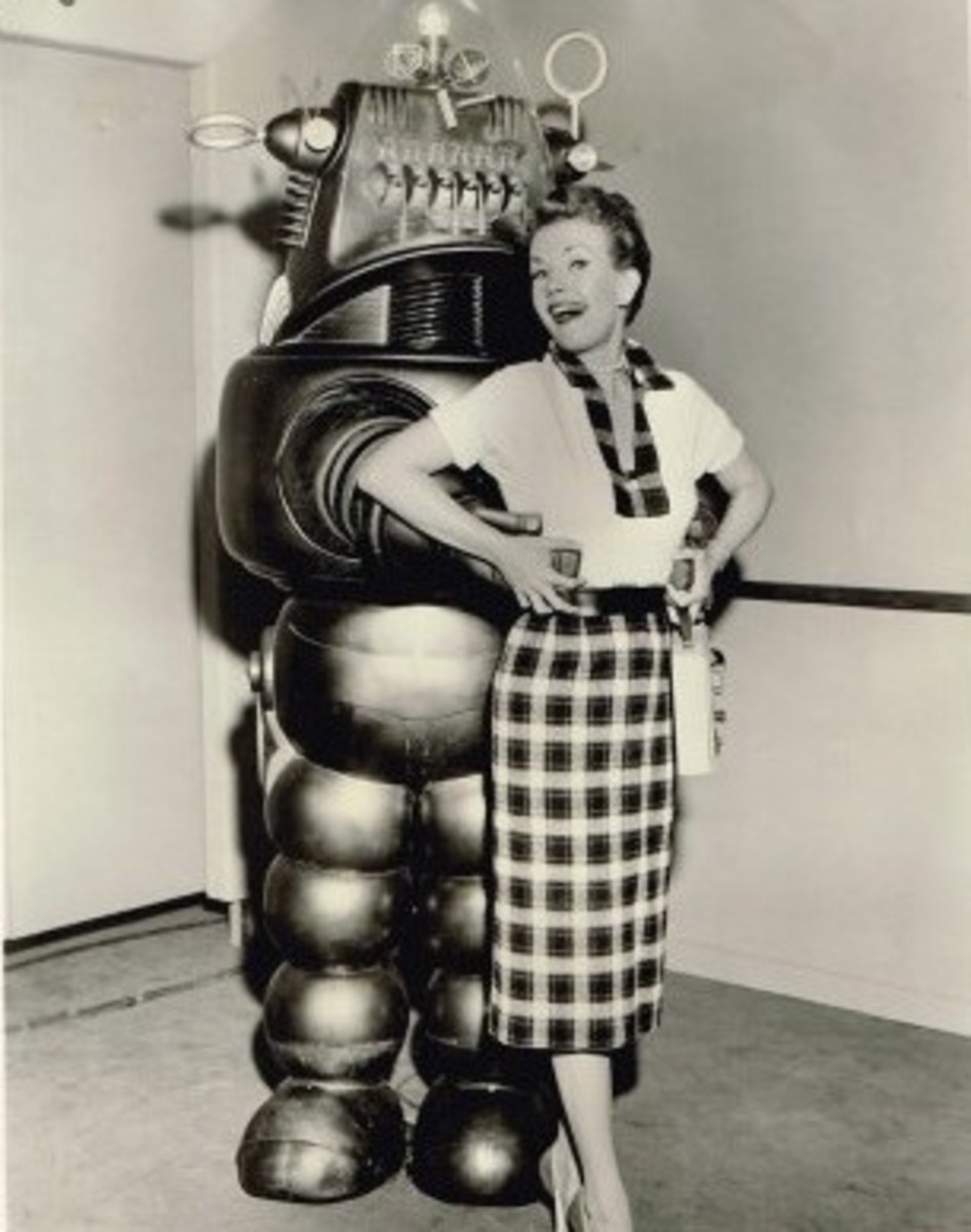 Robby The Robot in The Gale Storm Show: Oh, Susanna! Promotional Picture