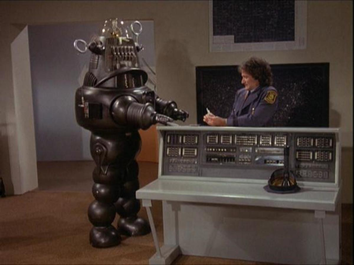Robby The Robot in Mork and Mindy