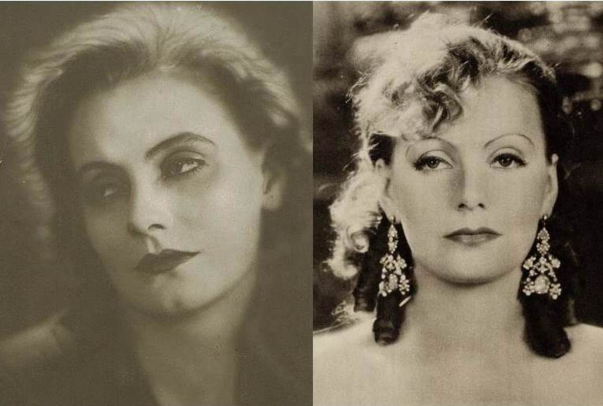 Greta Garbo Before and After Her Hollywood Makeover