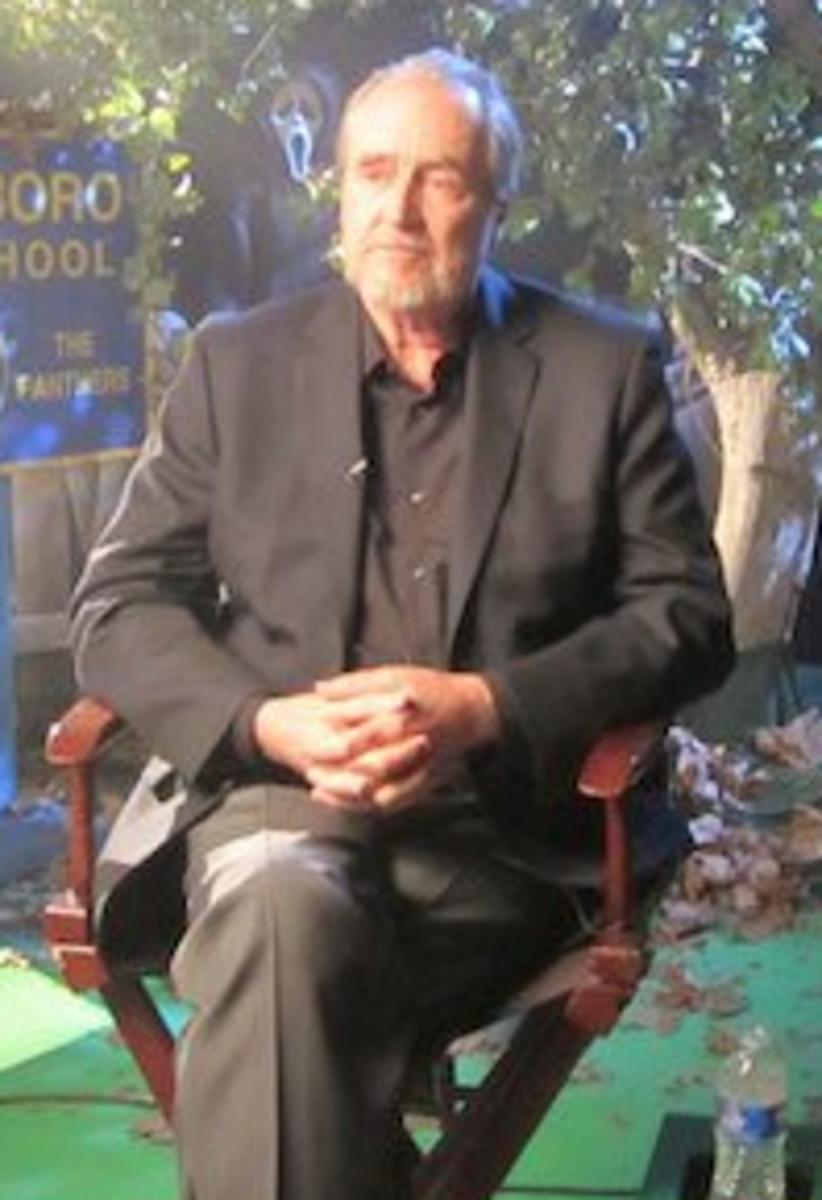 Director Wes Craven