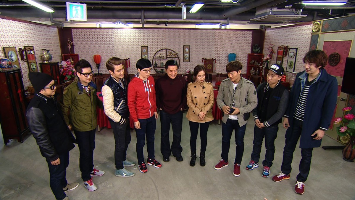 Running Man has also attracted high-profile guests such as international action star, Jackie Chan.