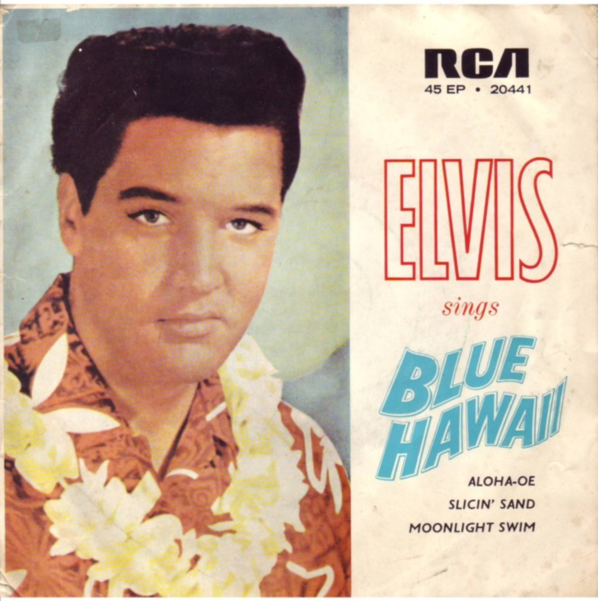 "Elvis Presley's version of Hawaiian Wedding Song first featured in the film ""Blue Hawaii"""