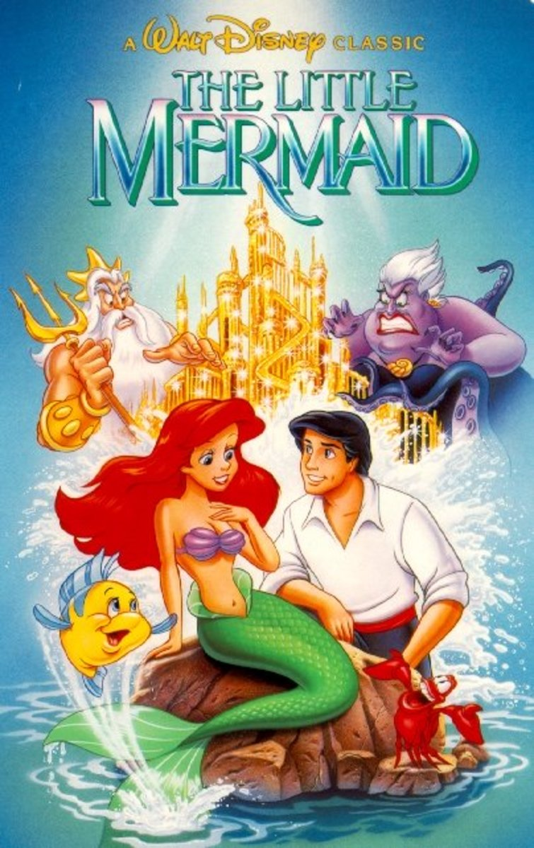 "The cover of ""The Little Mermaid"" contains a famous Easter egg."
