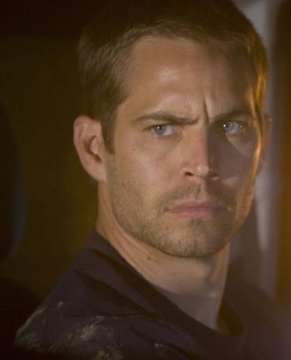Paul Walker in the movie Takers