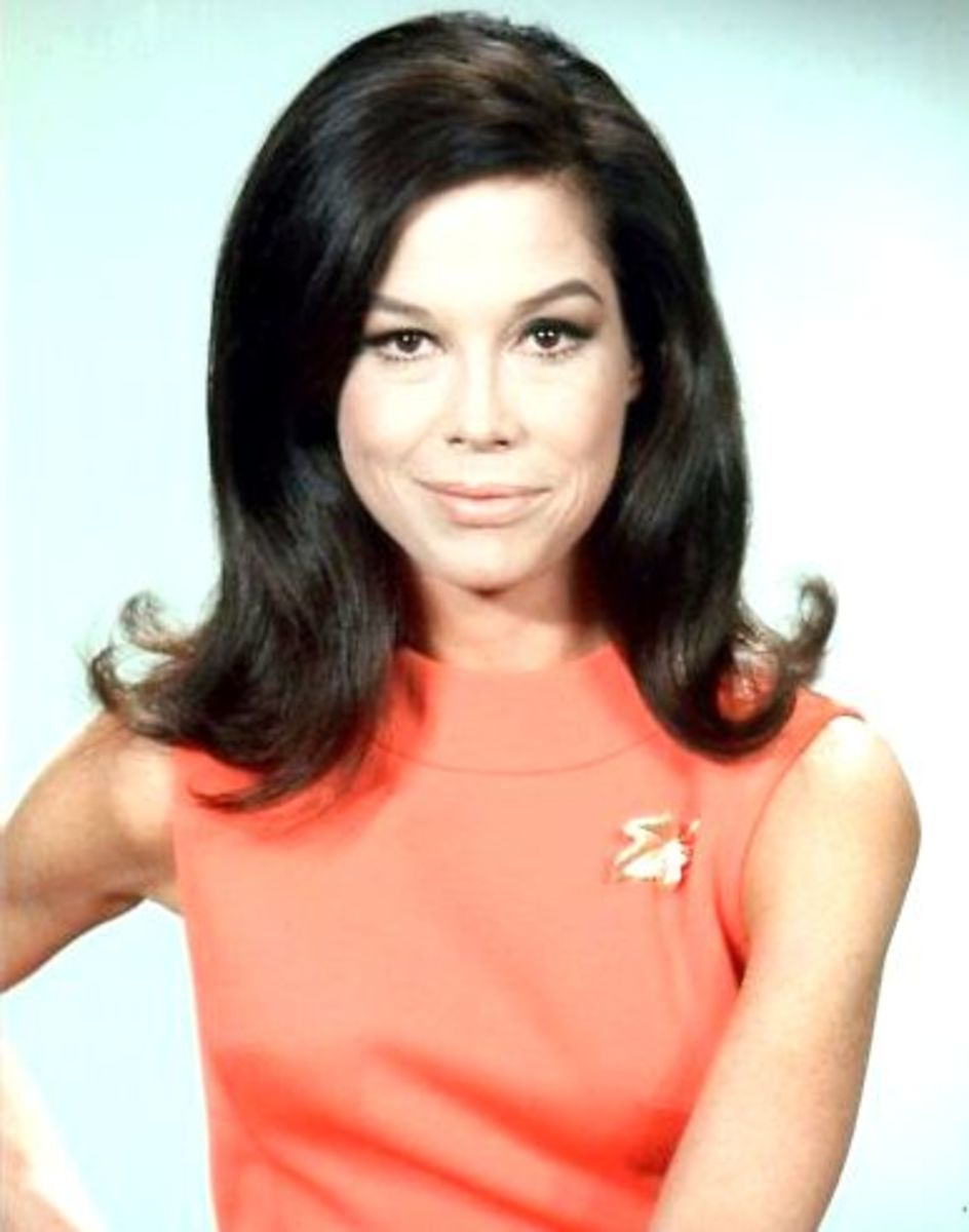 Mary Tyler Moore in 1970.