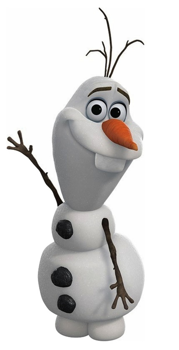 Olaf the snowman. Meant for so much more, but reduced to comic relief and nothing more.