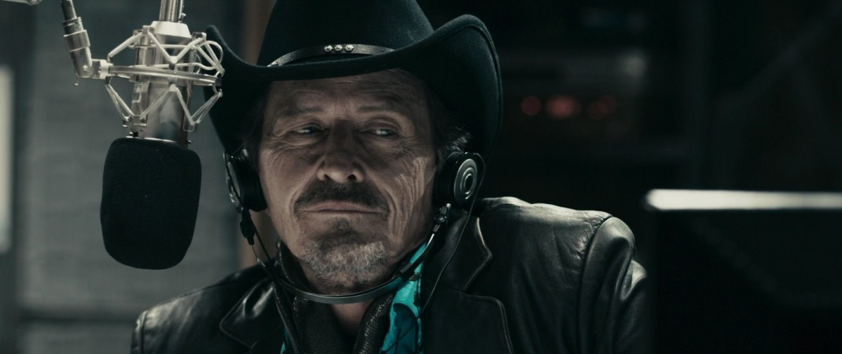 Aging shock jock as a movie hero?