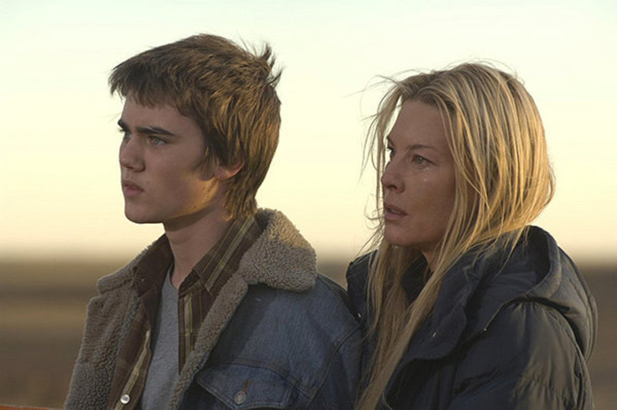 Caretaker and her son (if he looks familiar to you, he was also in Butterfly Effect)