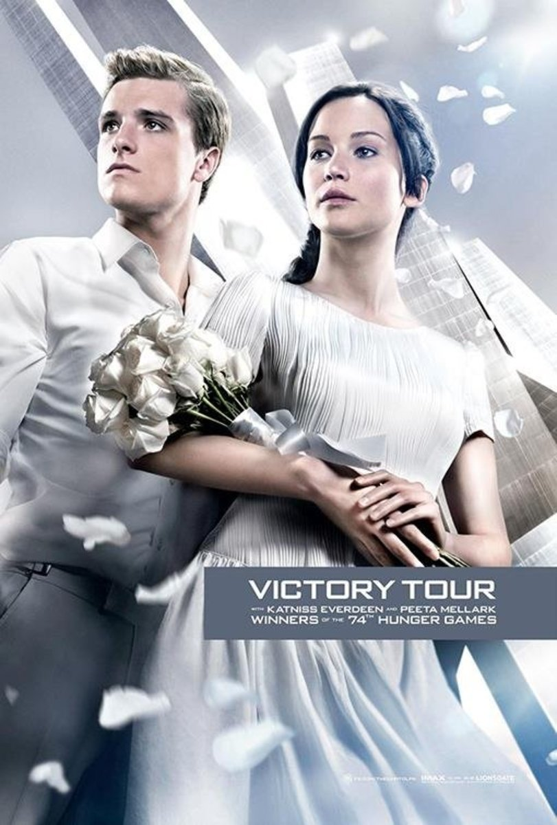 Katniss and Peeta, Victory Tour