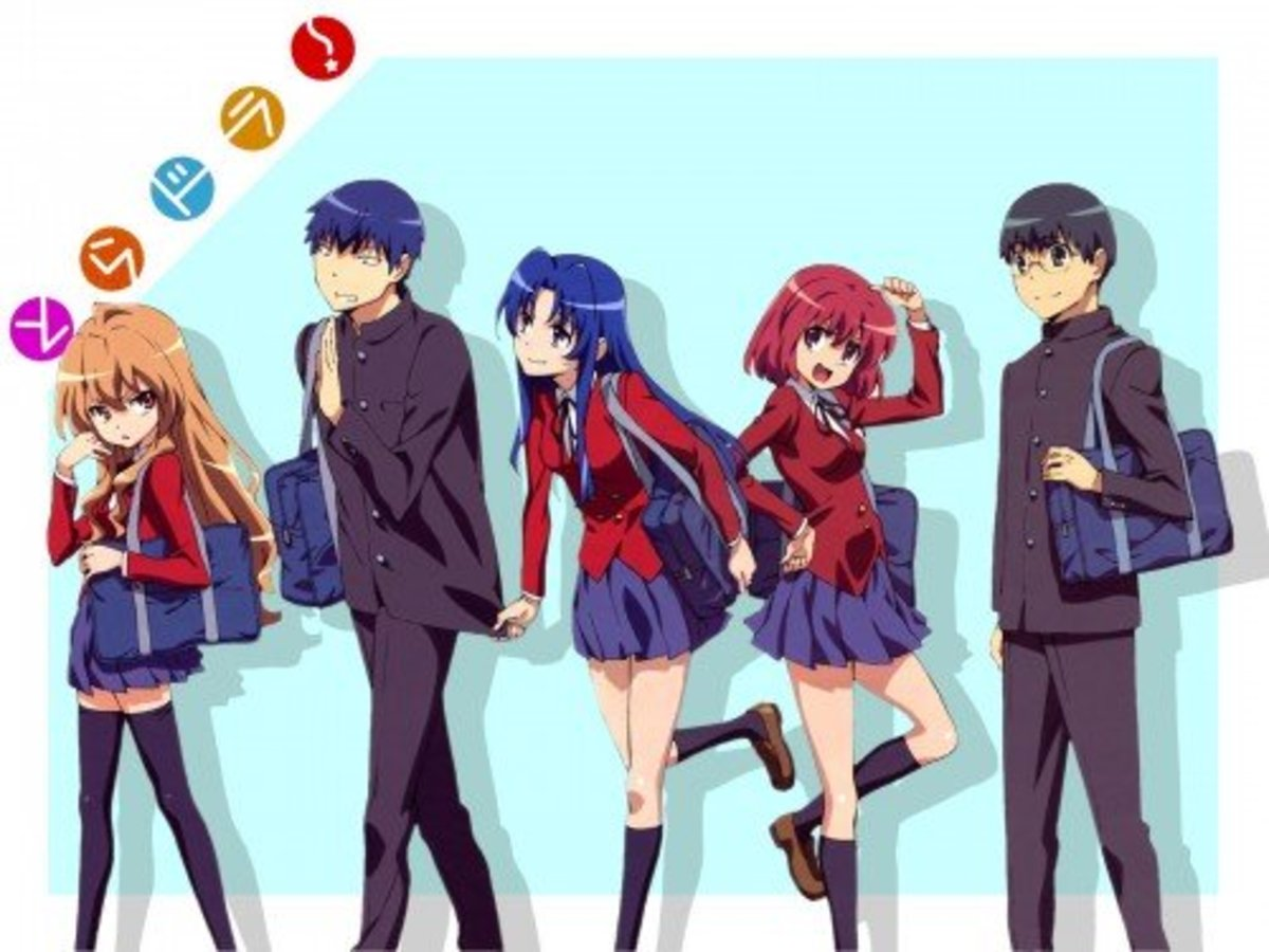 Toradora! A funny anime similar to Golden Time.