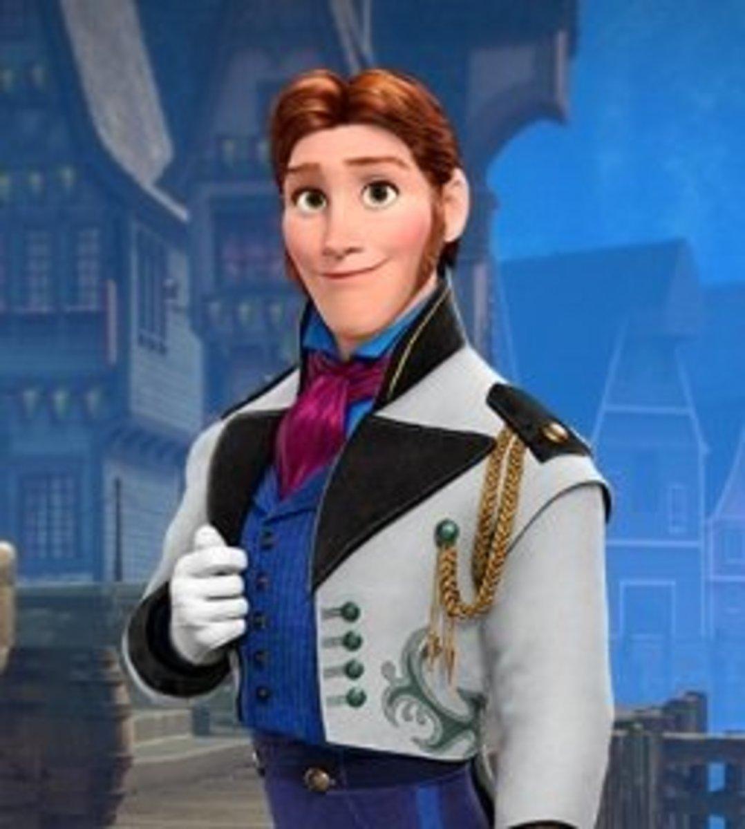 Prince Hans; Frozen, 2013.