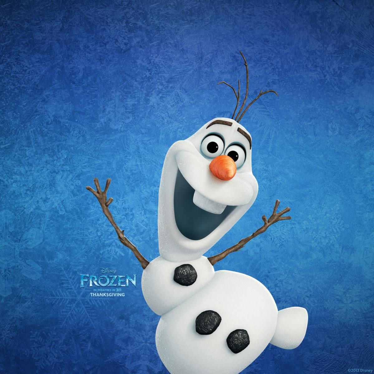 Olaf. Frozen, 2013