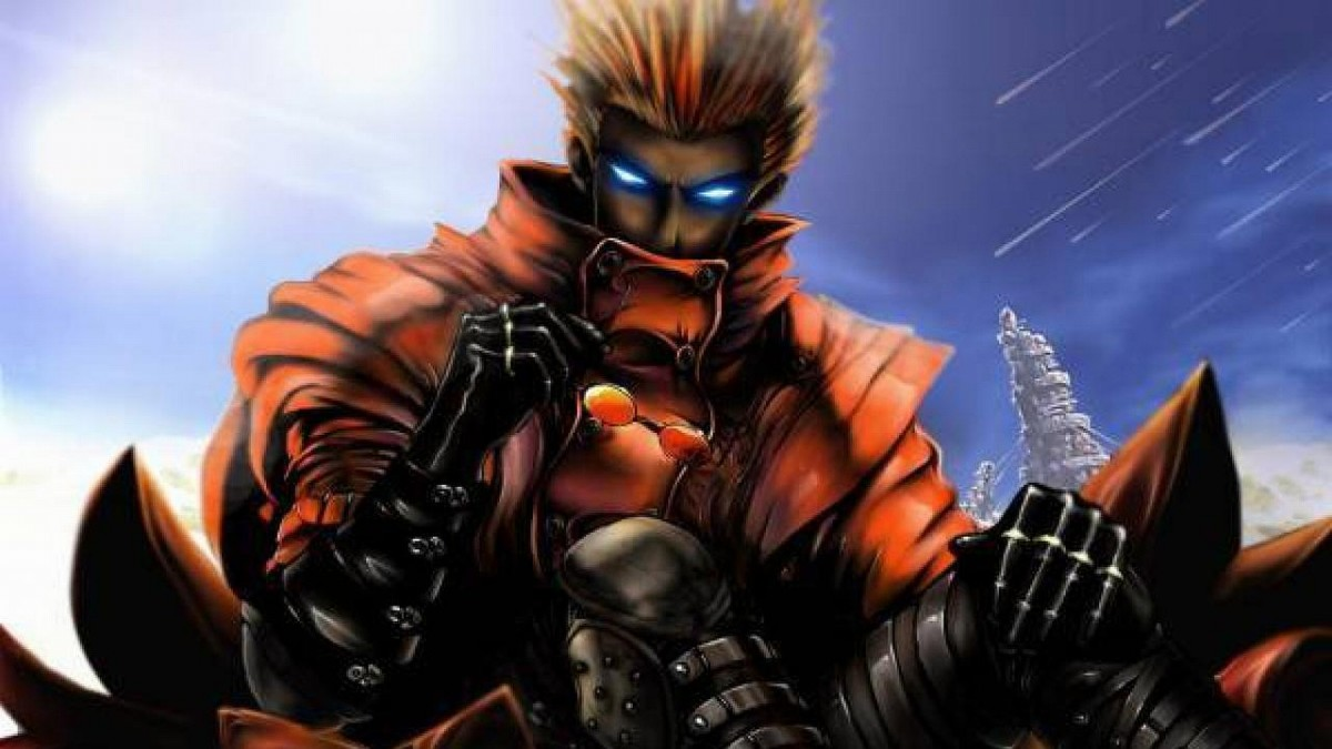 Vash The Stampede from 'Trigun.'