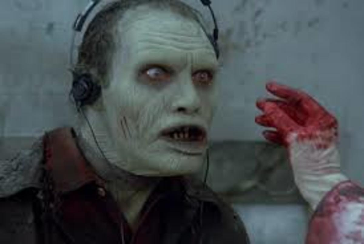 Romero's 3rd Zombie film which shows a zombie kept as a pet, who is smarter than his predecessors, in that he has the ability to be taught, and learn, but he also is much more animated than the shuffling, empty Zombies before.