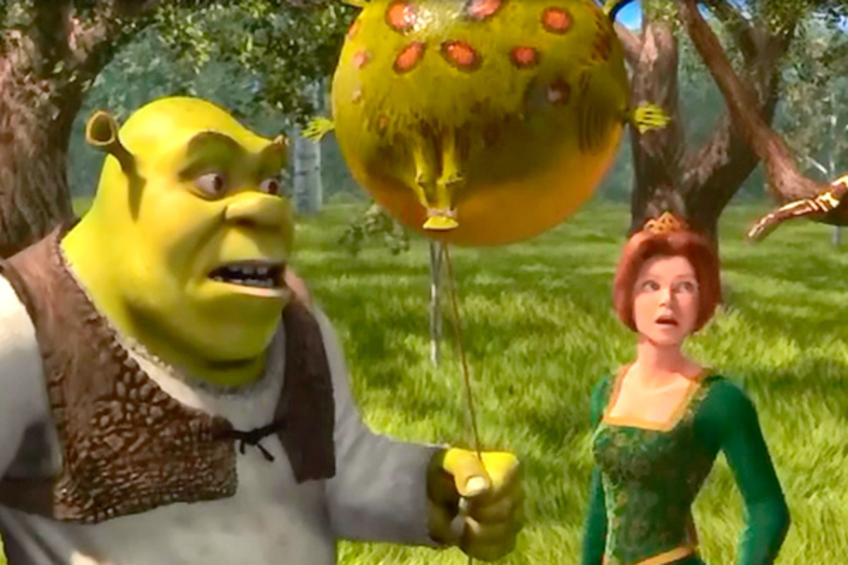 Who could forget the funny balloon scene in Shrek 1?