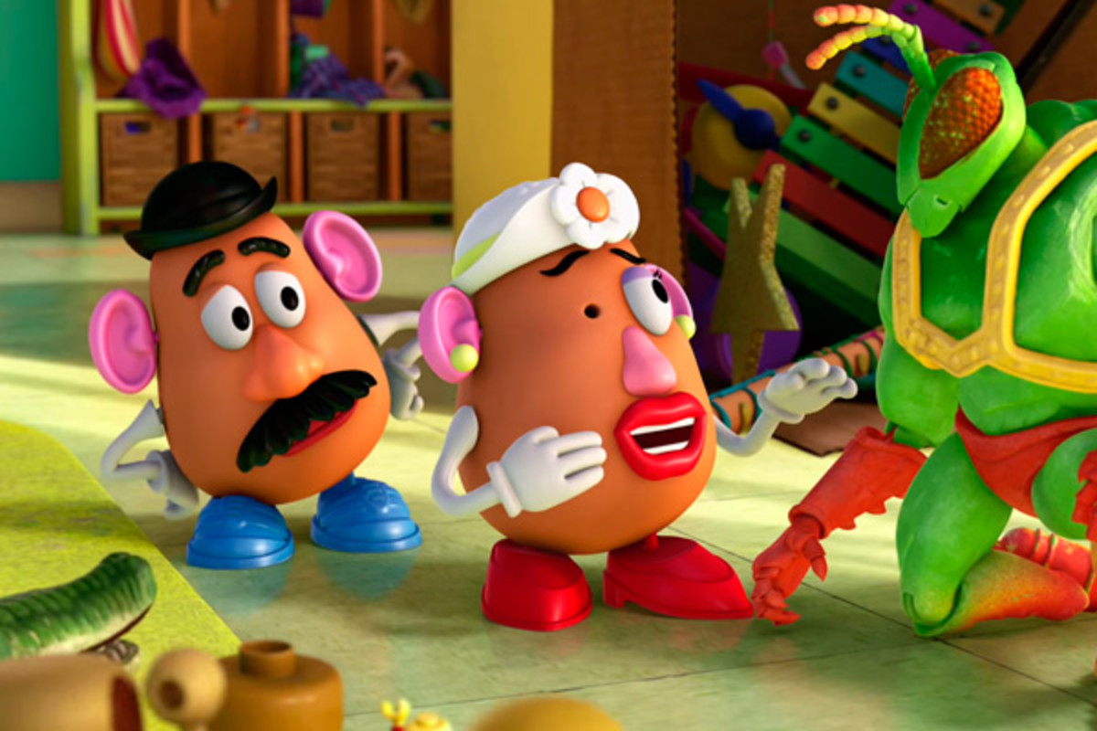 Mr & Mrs Potato Head are quite amusing.
