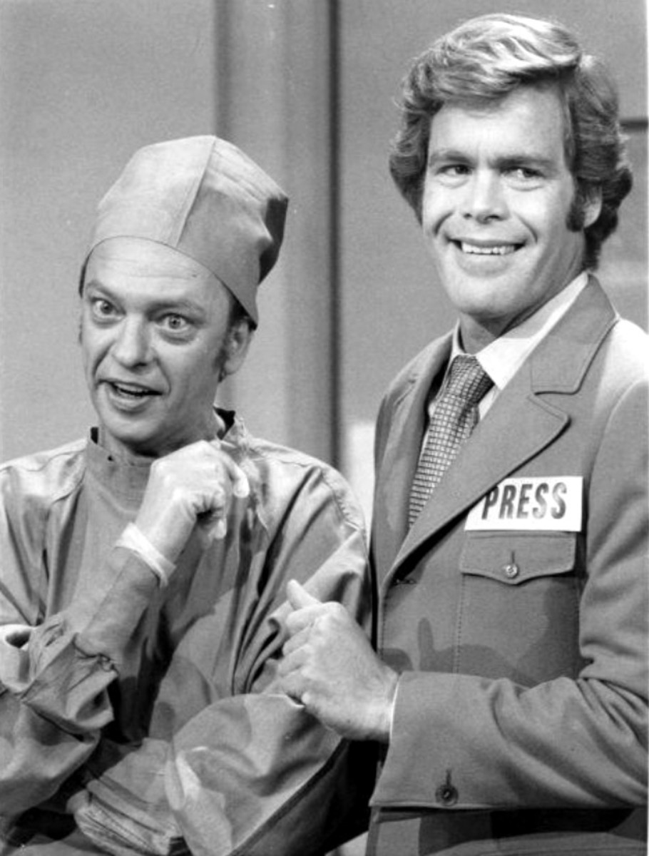 Don Knotts with Doug McClure