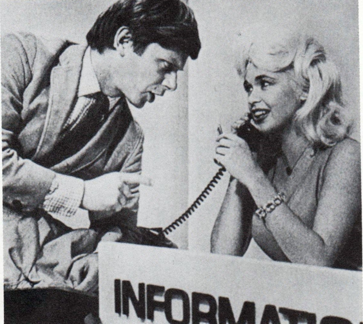 Jayne with Robert Morse