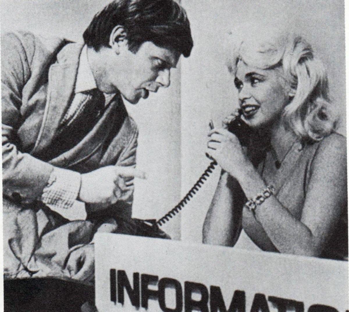 Jayne with Robert Morse