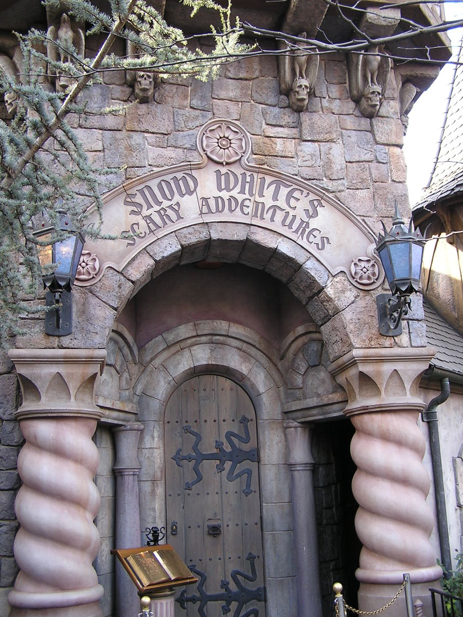 The attraction at Disneyland in California.