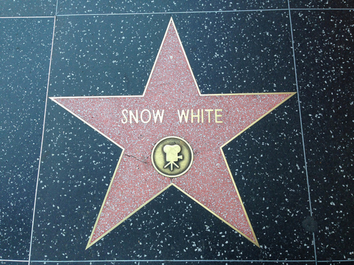 The star on the Hollywood Walk Of Fame.