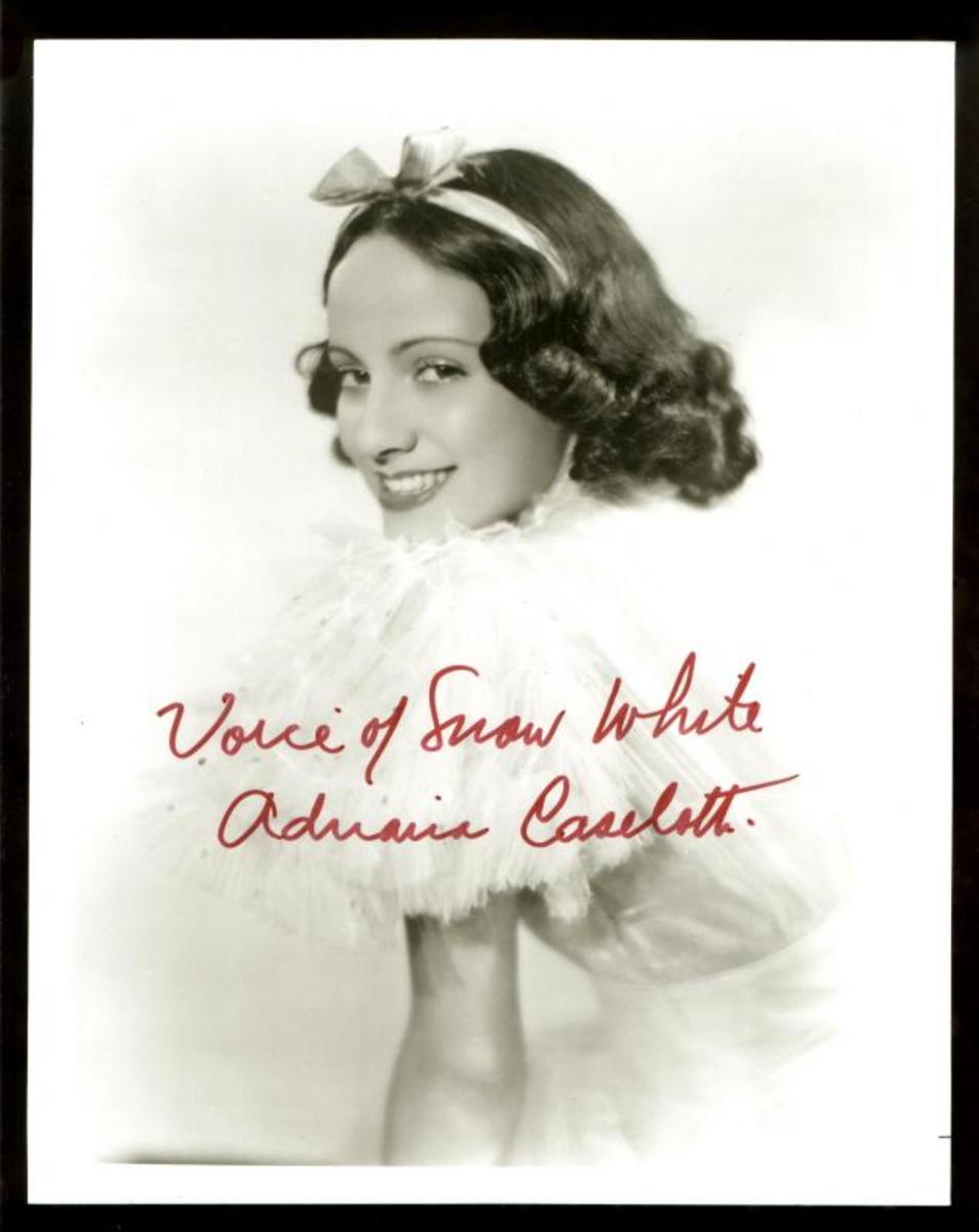 Adriana Caselotti.