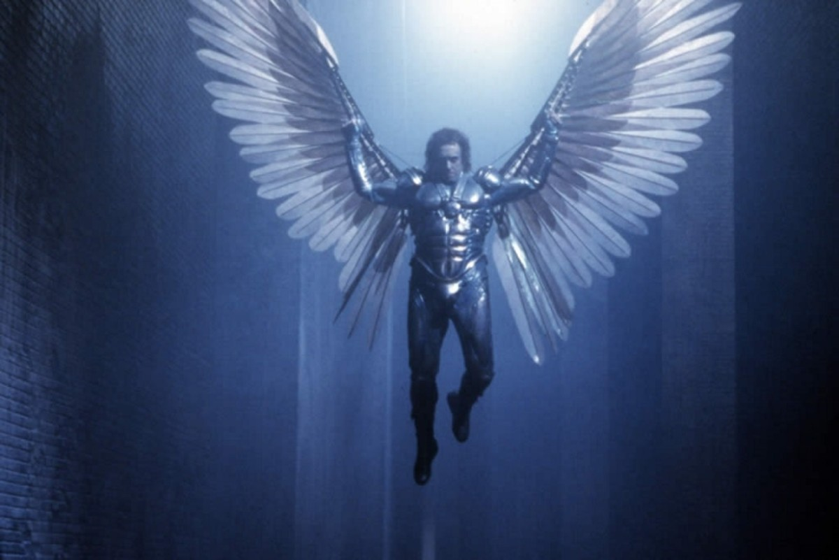 Shouldn't everyone be a winged hero in their own dreams?