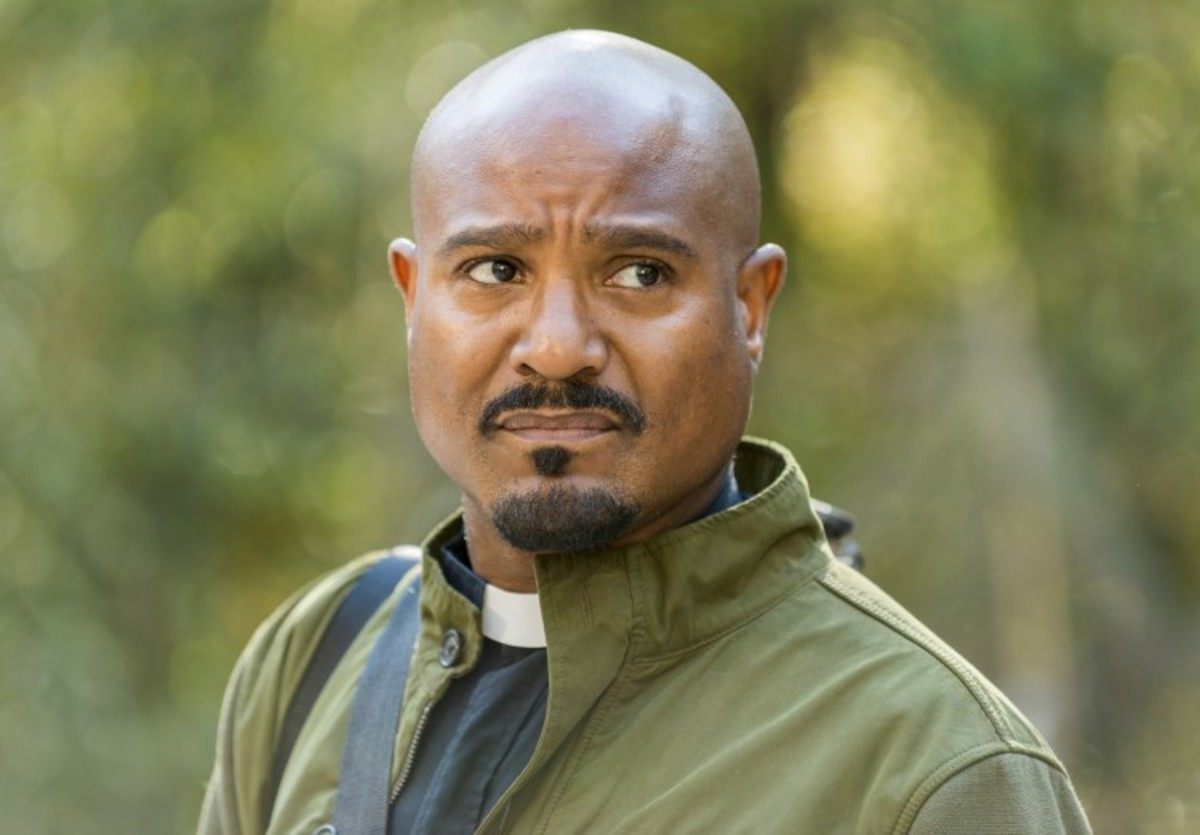 Father Gabriel from The Walking Dead