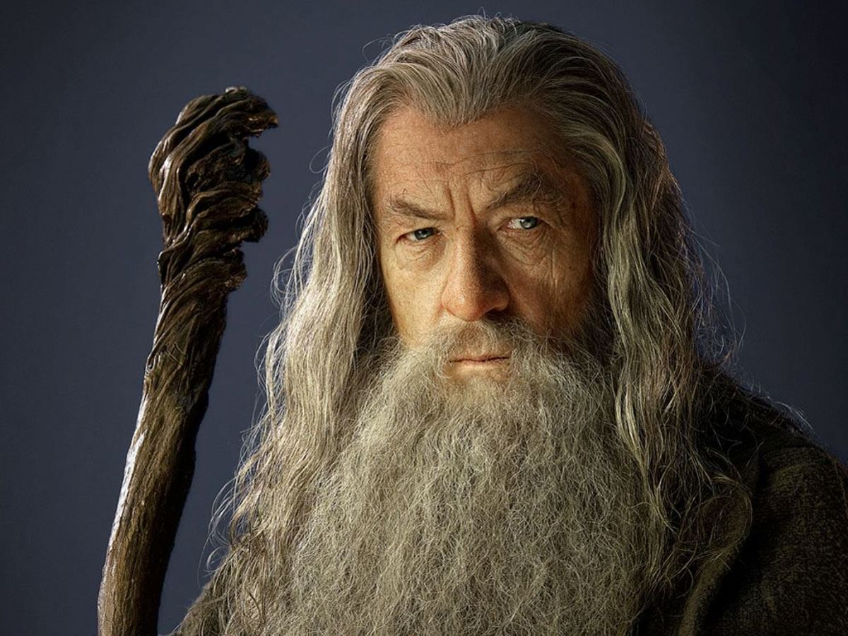 Wizard Gandalf from The Lord of the Rings.