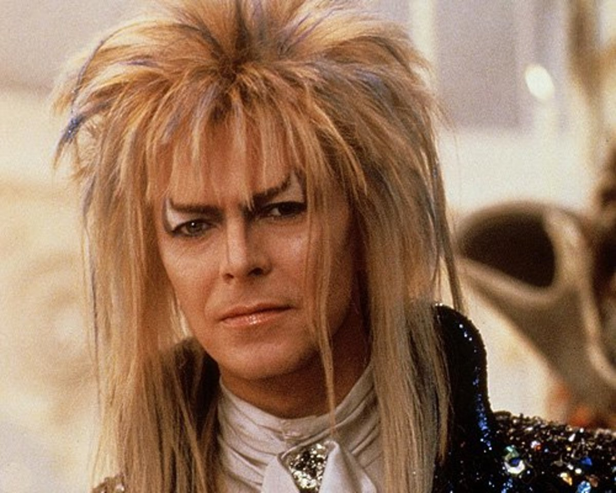 Jareth, the Goblin King from the movie Labrynth.