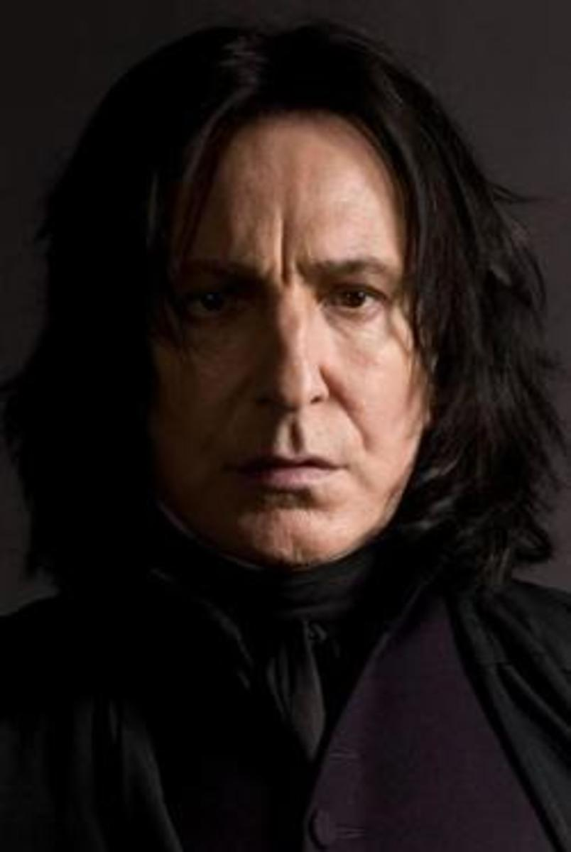 Severus Snape from the Harry Potter films.
