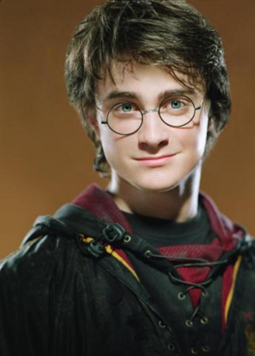 Heroic wizard Harry Potter.