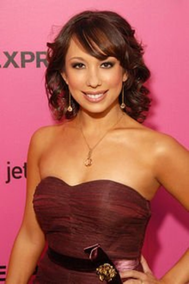 Cheryl Burke of Dancing with the Stars