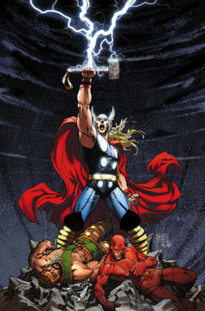 Thor Ragnarok in the comics. We won't see Daredevil in the upcoming movie.