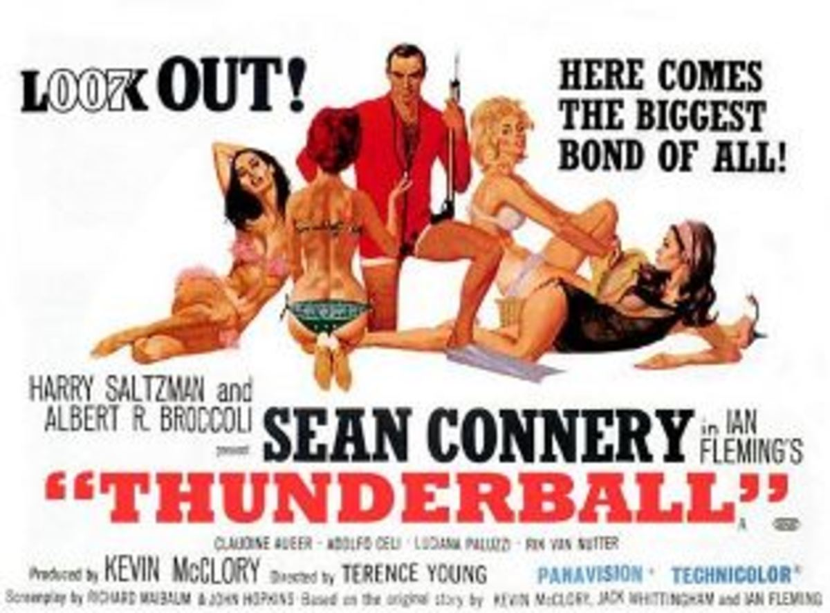 "Eon Productions was forced to give Kevin McClory producer's credit on ""Thunderball"" for his work on the original story."