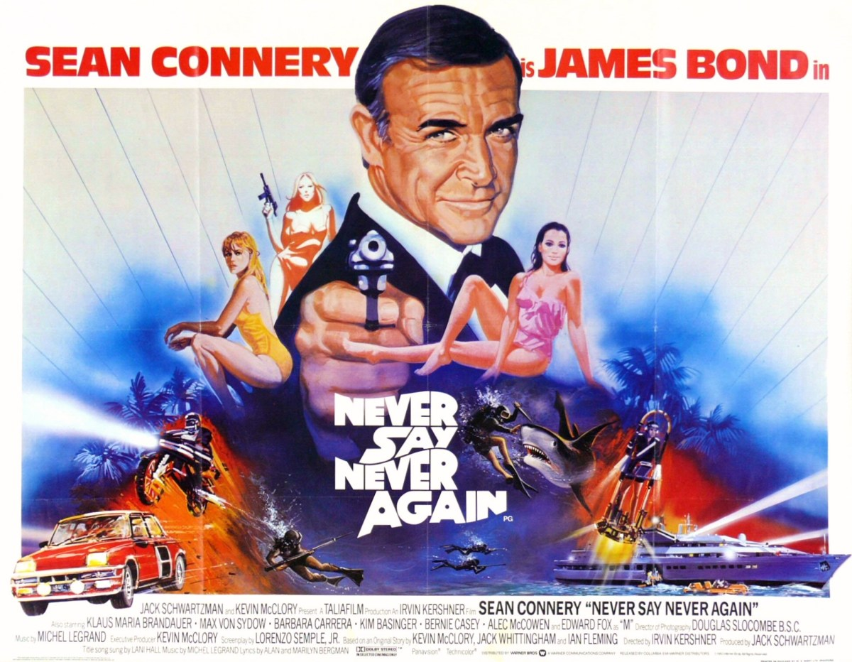 Never Say Never Again theatrical poster