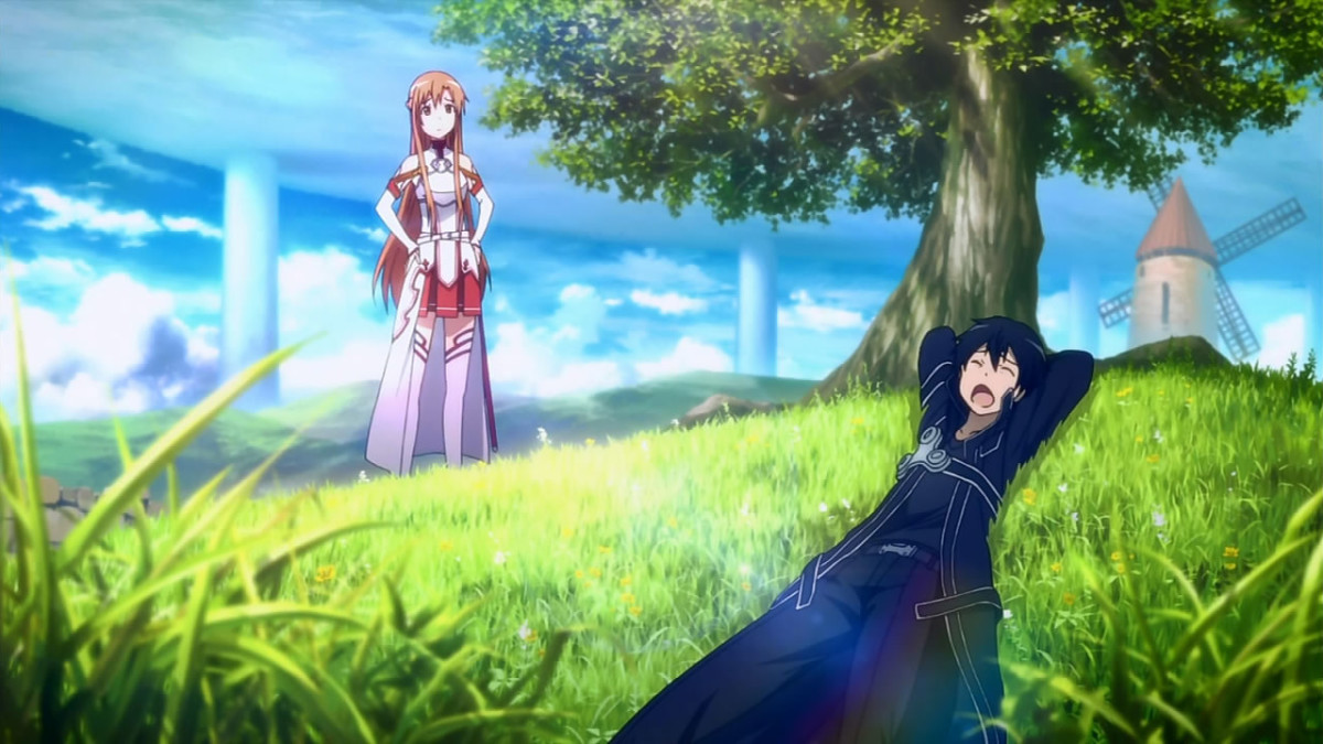 In the virtual reality world of Sword Art Online, when a player dies in-game, they also die in real life.