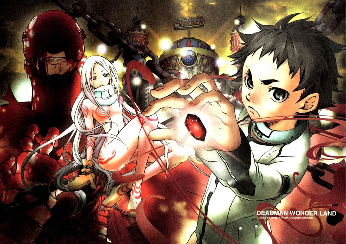 Igarashi Ganta, a middle school student, suddenly finds himself in hot water after being falsely accused of butchering his whole class.
